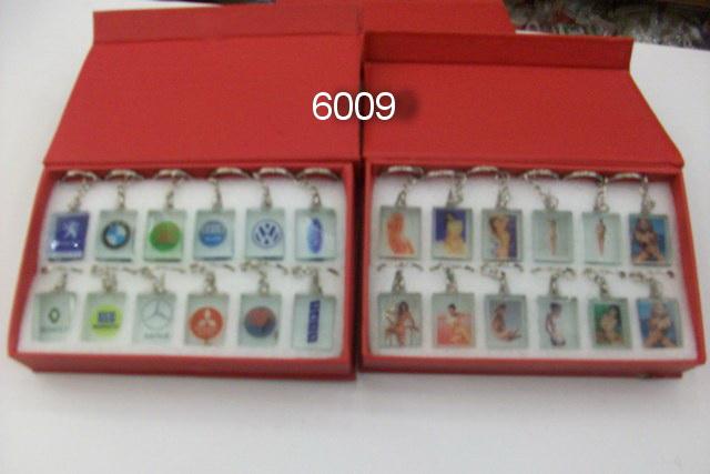 ANAHTARLIK ŞEFFAF 12Lİ PAKET KOD 6009