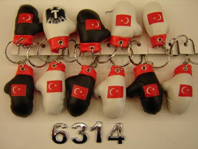 ANAHTARLIK BOKS ELDİVENLİ 12Lİ PAKET KOD 6314